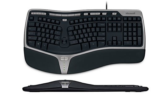 Microsoft Keyboard V Ku Ergonomic USB Wired for sale online
