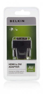 Belkin DVI-D male - HDMI female (F2E4162CP2)