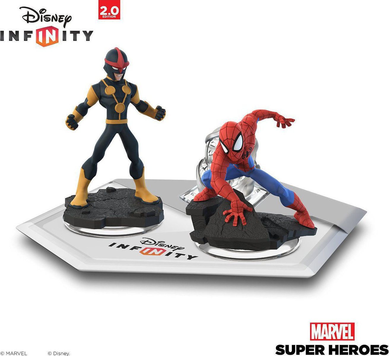 Disney Infinity 2 0 Marvel Super Heroes Spiderman Amp Nova