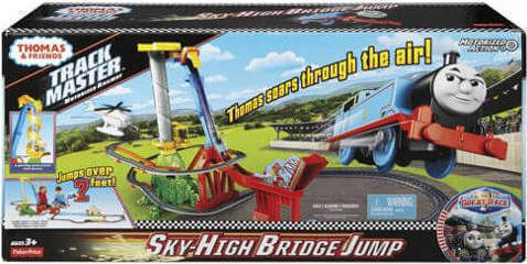 310307fc998c8d Fisher Price Thomas & Friends - TrackMaster Thomas' Sky-High Bridge Jump