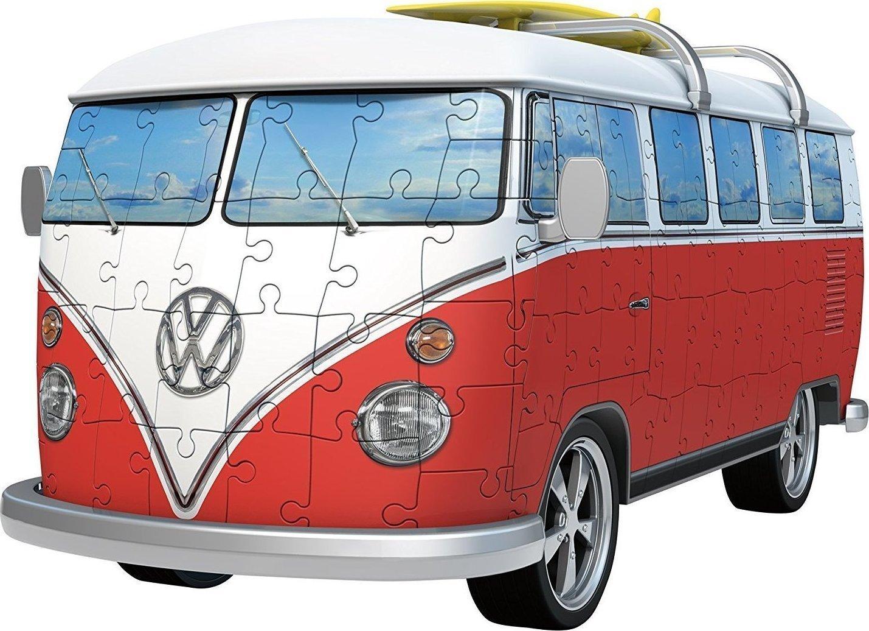 vw bus t1 3d puzzle 162pcs 12516 ravensburger. Black Bedroom Furniture Sets. Home Design Ideas
