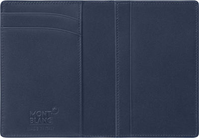 Mont Blanc Meisterstuck Business Card Holder with Gusset Blue