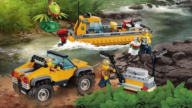 Lego City: Jungle Air Drop Helicopter 60162 - Skroutz.gr