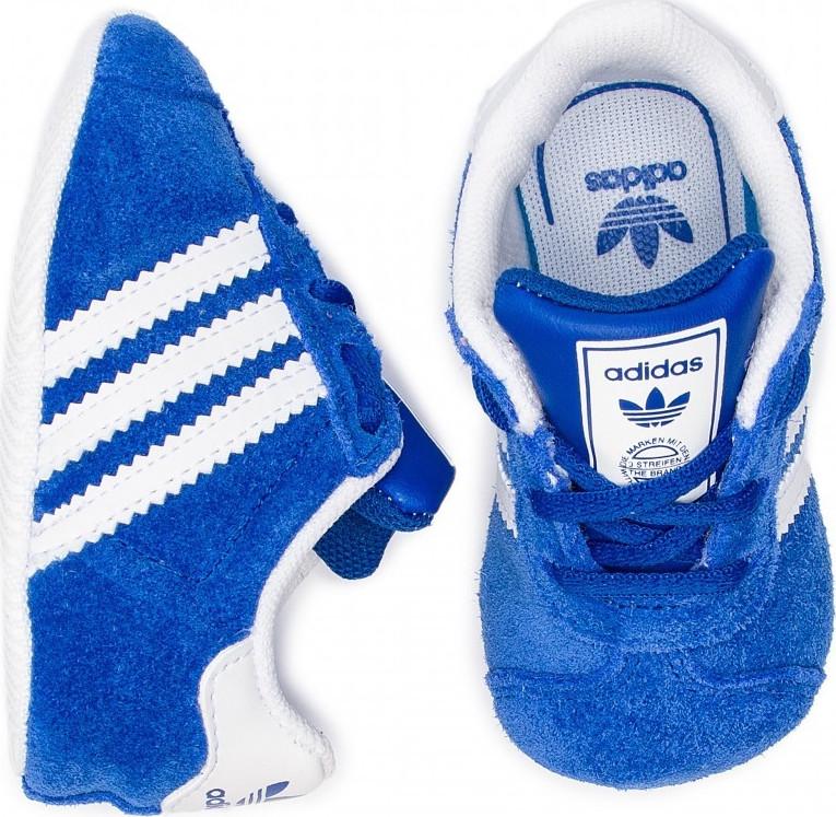 quality design 84041 a1bf8 ... Adidas Gazelle Crib Blue ...