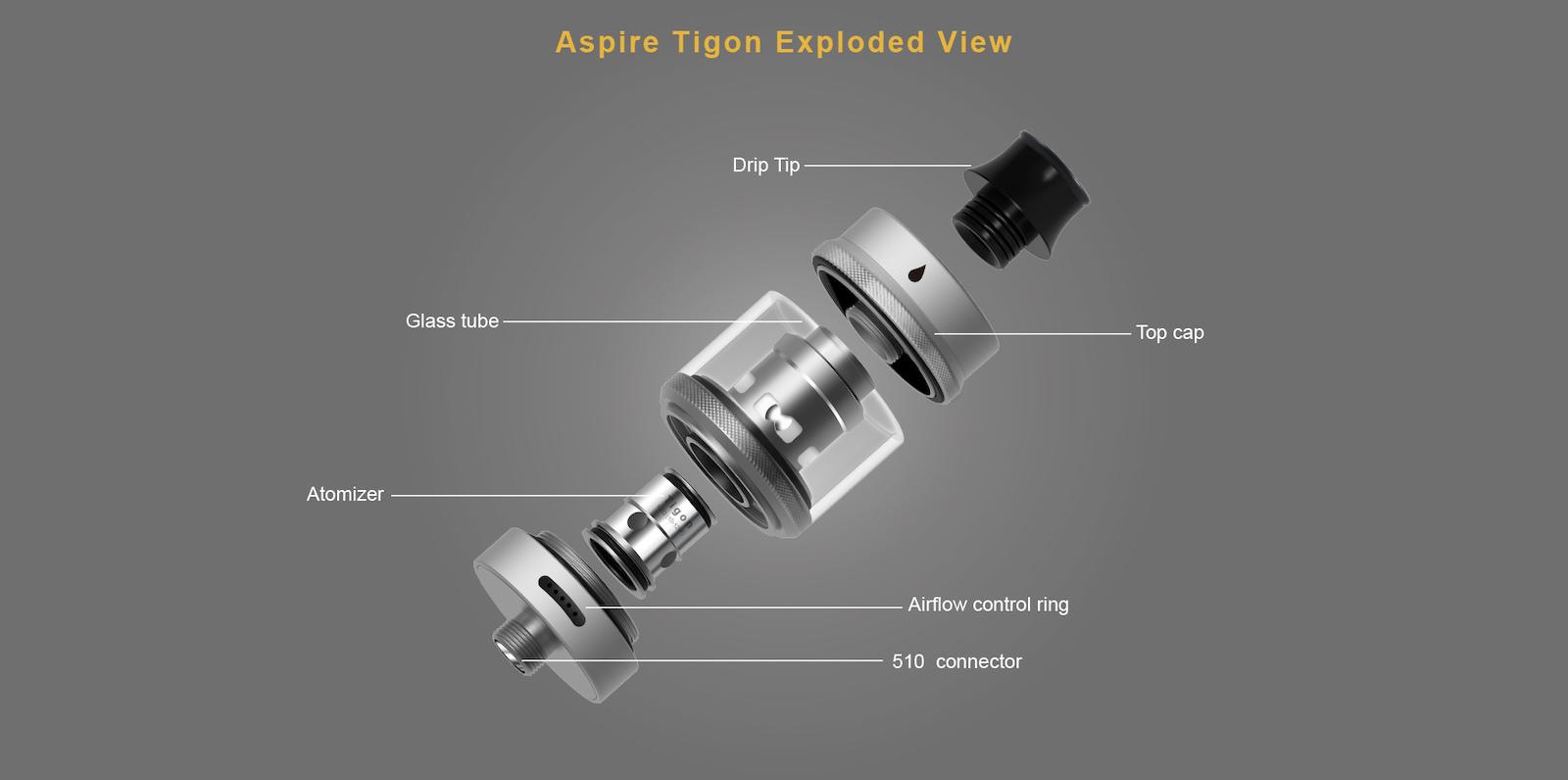 Αποτέλεσμα εικόνας για Aspire Tigon Tank