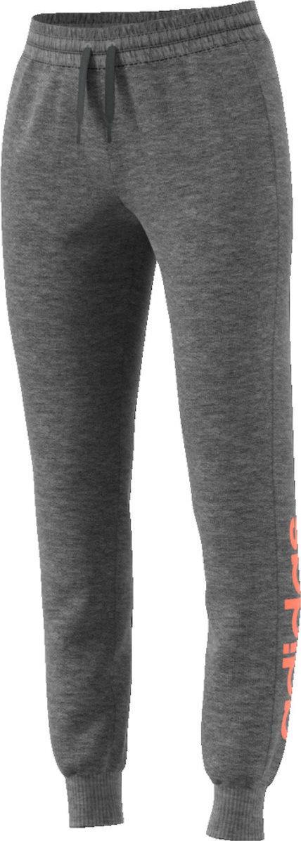Adidas s13161 Men Grey Melange Ess Lin Ch Track Pants