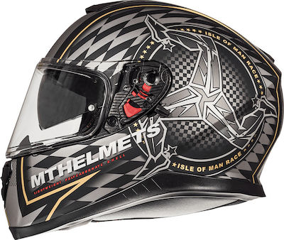 MT Thunder 3 SV Isle of Man Matt Black/Gold