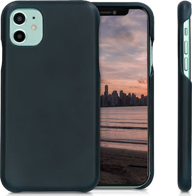 KW Kalibri Smooth Genuine Leather Back Cover Dark Blue (iPhone 11)