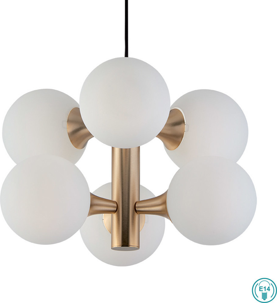 Viokef Globe 3094400 | Κρεμαστά Φωτιστικά Οροφής