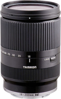 Tamron 18-200mm F/3.5-6.3 Di III VC for Canon EOS M (Canon EF-M) Black