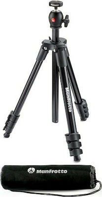 Manfrotto Compact Light Τρίποδο - Φωτογραφικό Black