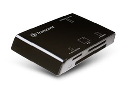 Transcend Multi-Card Reader P8 Black