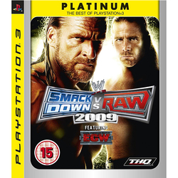 Wwe Smackdown Vs Raw 2009 Platinum PS3