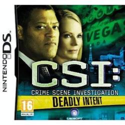 Csi Deadly Intent The Hidden Cases DS