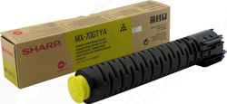 Sharp MX-70GTYA Yellow Toner