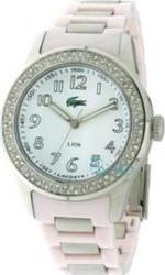 Lacoste Ladies Pink Crystal Watch 2000466