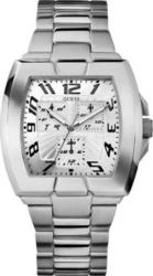Guess Square Calendar Stainless Steel Ladies W13539G1