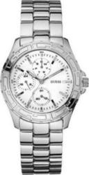 Guess White and Silver Brac W12065L1