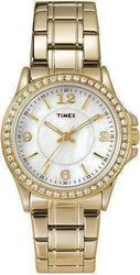 Timex Gold and Crystal Ladies T2M836