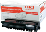 OKI 01240001 Black Toner Cartridge