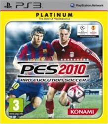 Pro Evolution Soccer 2010 (Platinum) PS3