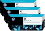 HP 91 Light Cyan 775ml 3-pack (C9486A)