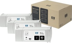 HP 83 Black UV 680ml 3-pack (C5072A)