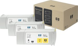HP 83 Yellow 680ml 3-pack (C5075A)