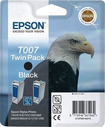 Epson T007 Black Twin Pack (C13T007402)