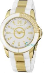 Tommy Hilfiger White Ceramic and Gold Stainless Steel Bracelet - 1780974