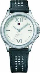 Tommy Hilfiger Ladies Black Leather Strap 1781015