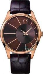 Calvin Klein Deluxe Brown Leather Strap K0S21503