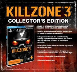 Killzone 3 (Collector's Edition) PS3