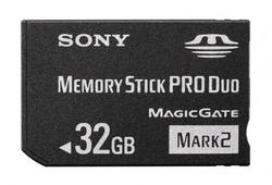 Sony Memory Stick Pro Duo 32GB with Adapter