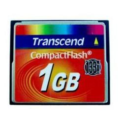 Transcend 133x CompactFlash Card 1GB