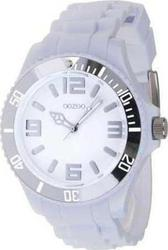 Oozoo Unisex 48mm White Rubber Strap C4160