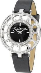 Just Cavalli Multilogo Black Leather Strap R7251176525