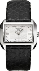 Tissot T-Wave Black Leather Ladies T023.309.16.031.00