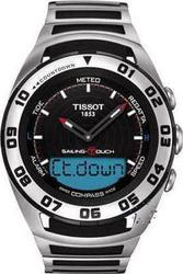 Tissot Sailing Touch Mens Stainless Steel T0564202105100