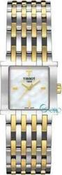 Tissot Six-T Two-Tone Stainless Steel Bracelet Ladies - T02218185