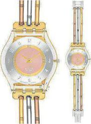 Swatch Skin Tri-Gold Metal Bracelet Small SFK240B