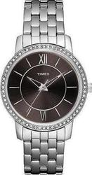 Timex Brown Silver Stainless Steel T2N372