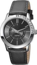 Esprit Ladies Watch Quarter Black Leather Strap ES102952002