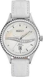 Gant Ladies White Leather Strap GW10564