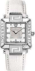 Versace Reve Carre White Leather Strap 88Q99SD497S001