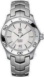 TAG Heuer LINK Automatic Calibre 5 White Dial - WJ201BBA0591
