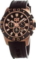 CAT Active-One Chronograph Black Rubber Strap YF16321125