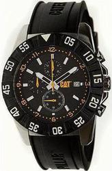 CAT DP Sport Black Rubber Strap PM14321134