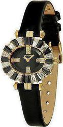 Gianfranco Ferre Black Leather Strap Crystal Ladies GF9037L05