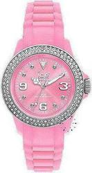 Ice-Watch Stone Silli Collection Pink Rubber Strap STPSUS10